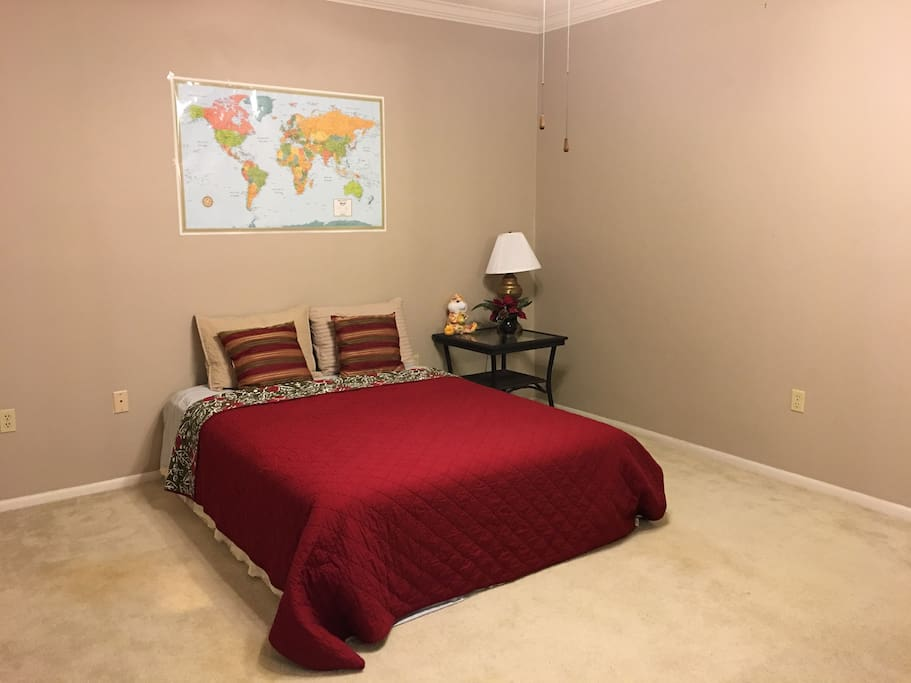 Private bedroom with en-suite bathroom