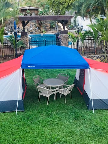 Sleep safe in a tent #2