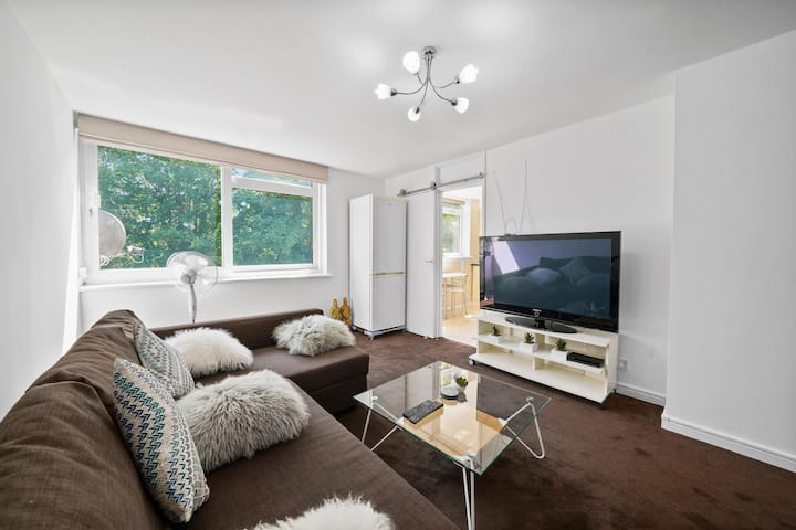 Gatewick Duplex Serviced Apt with 3 BR and 5 Beds
