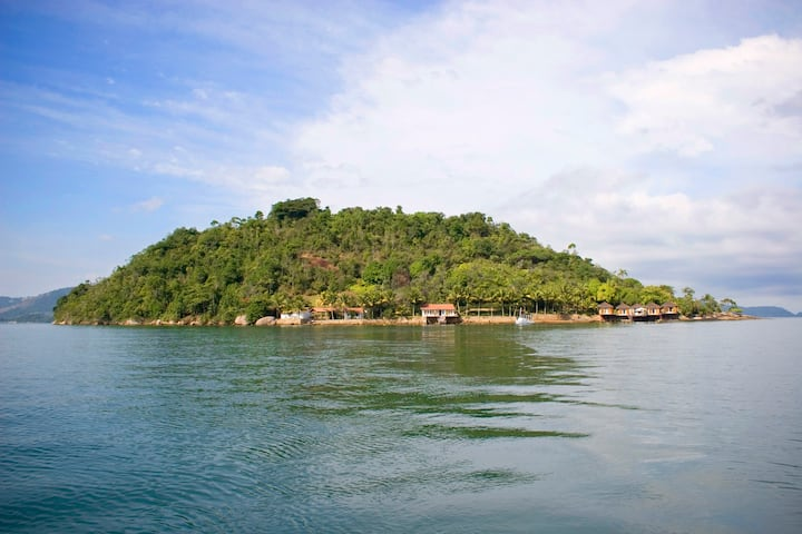 Island in Angra dos Reis, Rio de Janeiro - Brazil