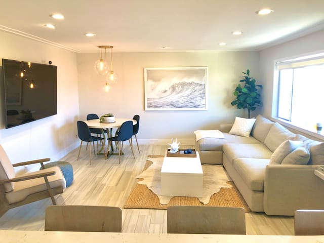 Coastal MB Modern Beach Condo by Downtown and Pier