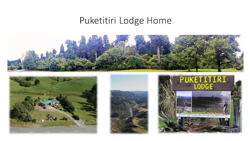 PUKETITIRI LODGE HOME