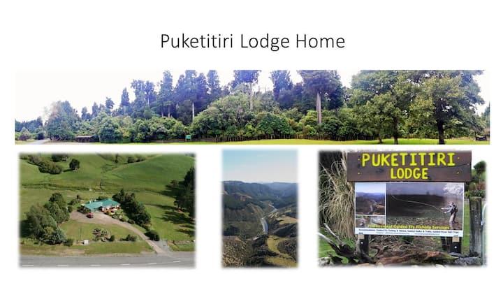 Puketitiri Lodge Home. Big NZ nature -Trout rivers