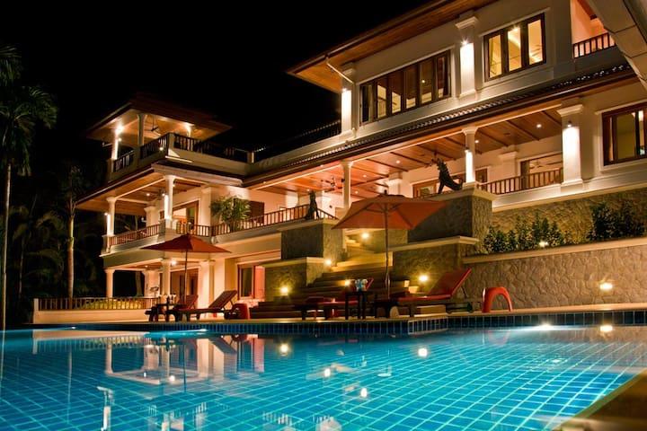 ORIOLE VILLA - Luxury 6 Bed Pool Villa near beach