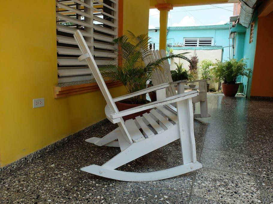 Teraza de la Habitación