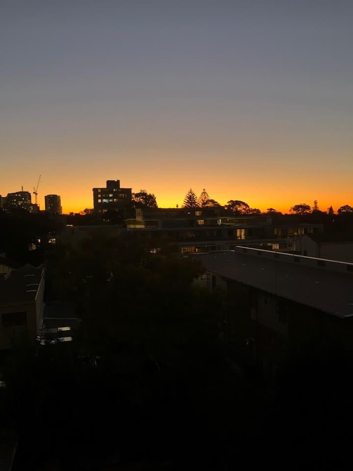 Sunsets in Bondi
