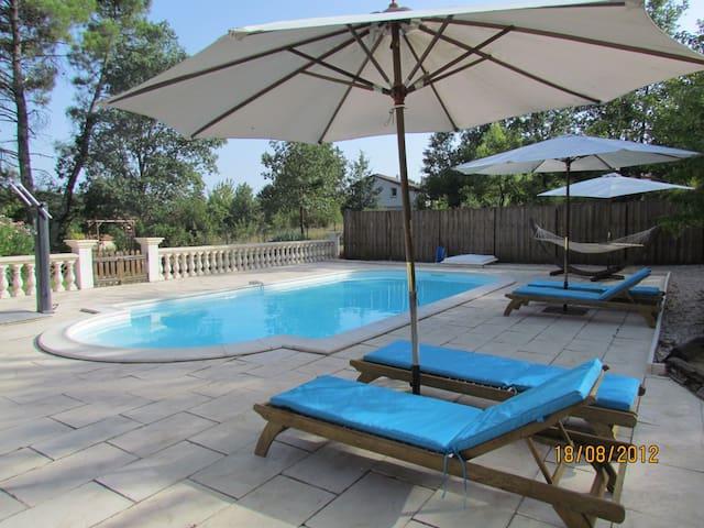 Maison 8 pers piscine privée