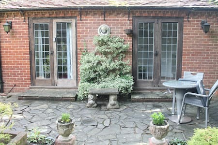 Idyllic guest house with private garden