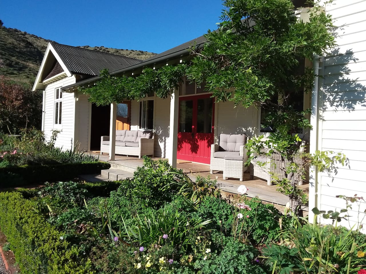 Verandah off Balmoral Room perfect for breakfast or morning coffee