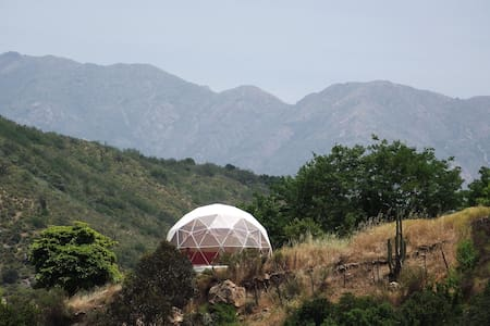 Geodesic Dome near World Biosphere Reserve - Quebrada de Alvarado