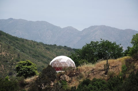 Geodesic Dome near World Biosphere Reserve