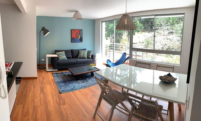 Apartamento nuevo en medio de la naturaleza