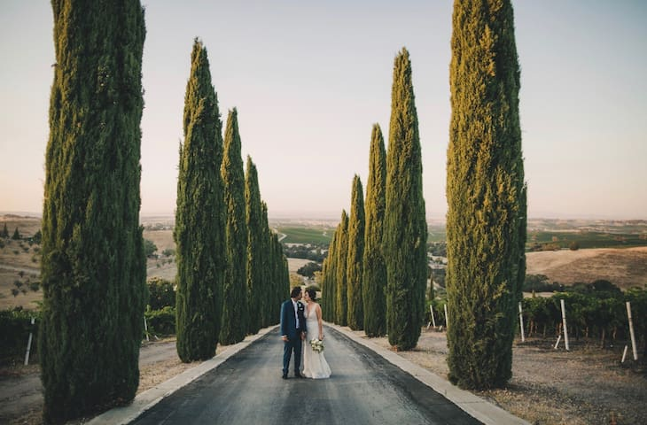 Aterno Estate & Vineyard Wedding Venue