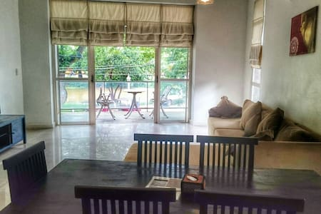 Architect's luxury 2 bedroom Apartment + Riverview - Krong Siem Reap