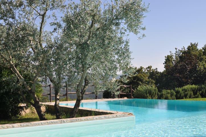 Agriturismo Borgo Casaglia - La fresca Cantina - San Venanzo - House