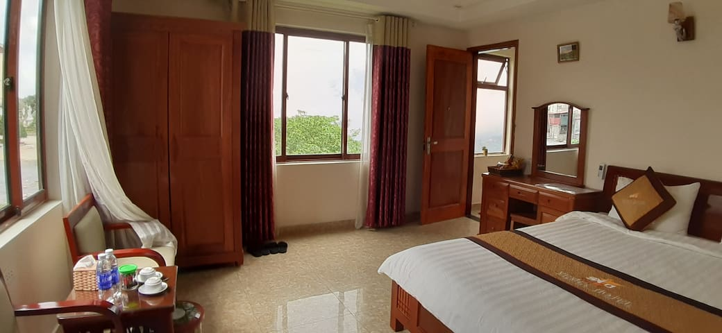 Private Double room Sapa Center has stunning view.
