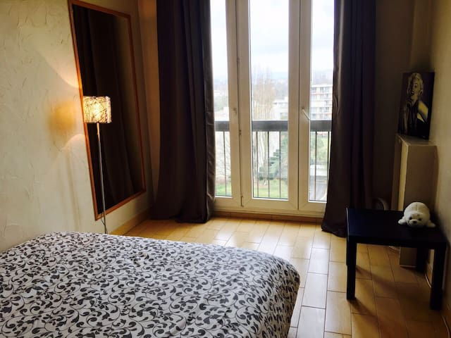 Chambre confortable et lumineuse - Chilly-Mazarin - Apartemen
