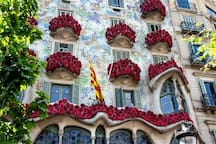 Casa Batlló Saint George's Day April 23th