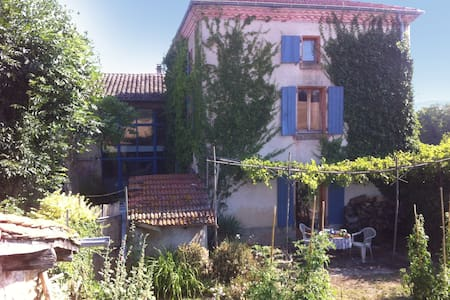 Grande maison -Drôme des collines- vacances d'été - Châteauneuf-de-Galaure - House