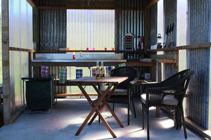 Riverside Glamping BAY OF PLENTY - Waikato - Yurt
