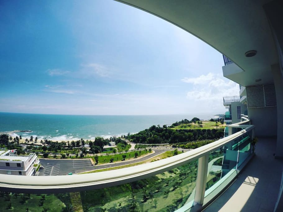 Amazing Ocean View from 7th Floor Penthouse
