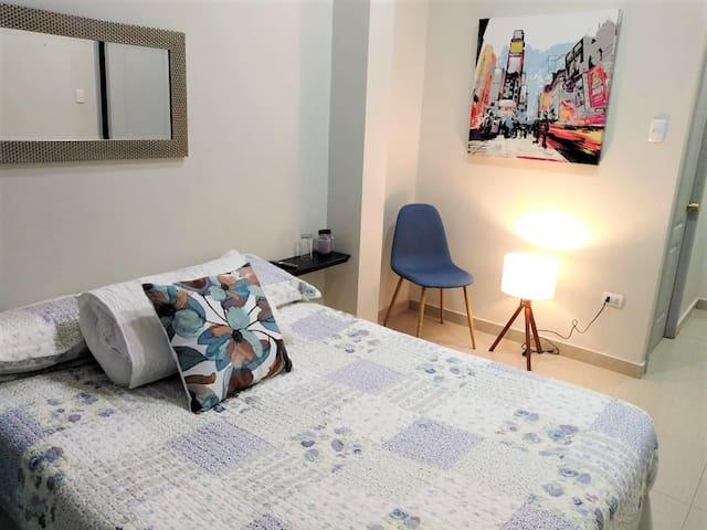 Habitación N°2. Amplia y cómoda