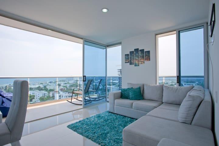 "PRIVATE ""BEDROOM 2"" NEAR TO BEACH - Cartagena - Apartamento"