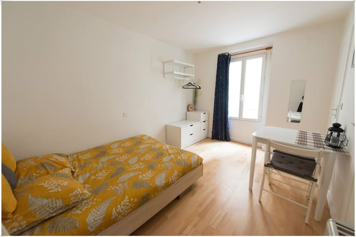 Nice studio Paris Center – Canal Saint Martin