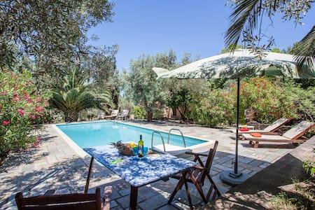 Charming villa in an olive grove - Skopelos Island