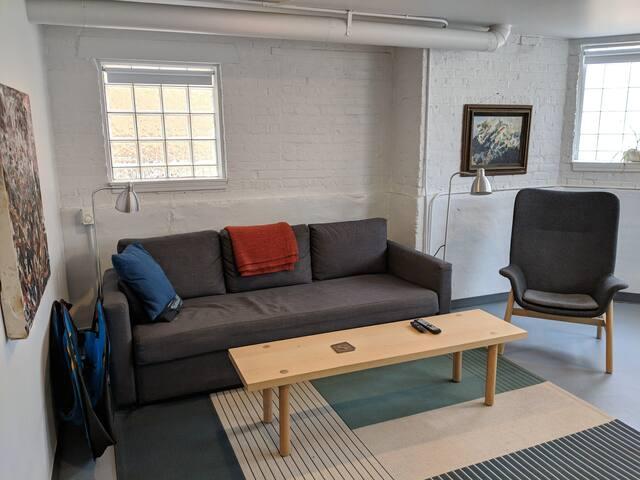 Spacious Garden Apartment in Lincoln Square