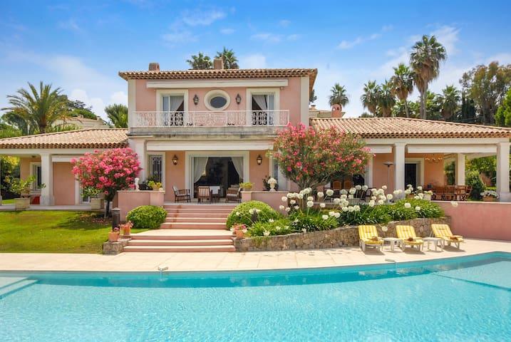 Belle villa 5 chambres avec piscine te vue mer - Antibes - House