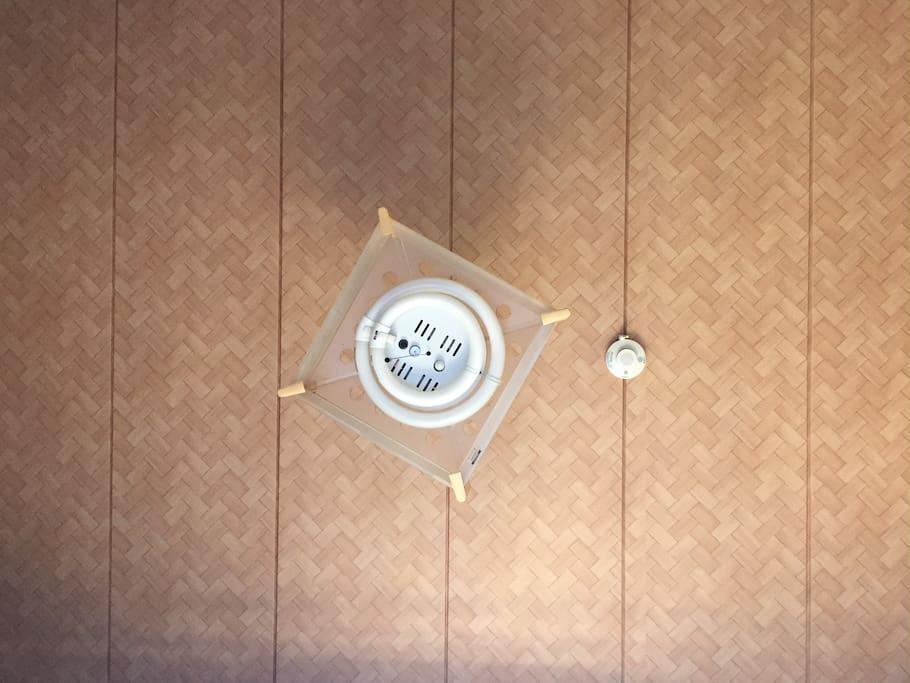 網代模様の天井