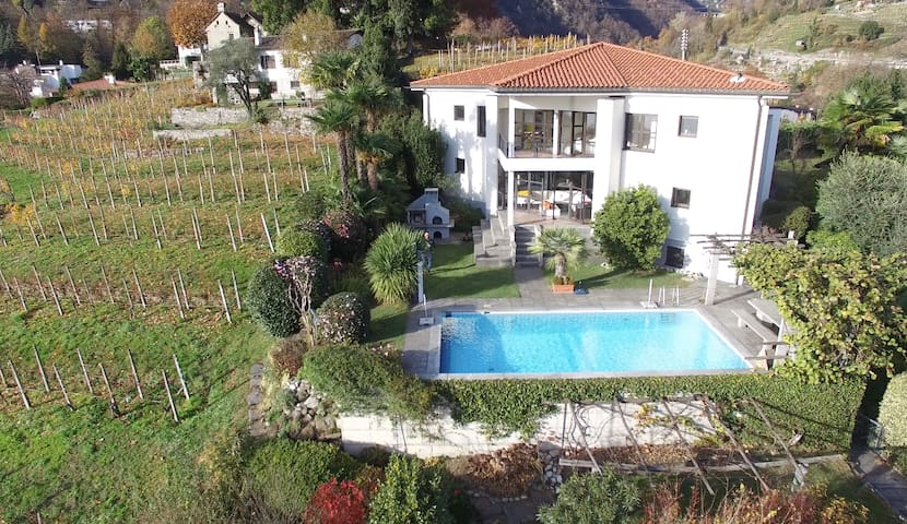Villa with Lake-view,pool, privacy - Tenero-Contra - Villa