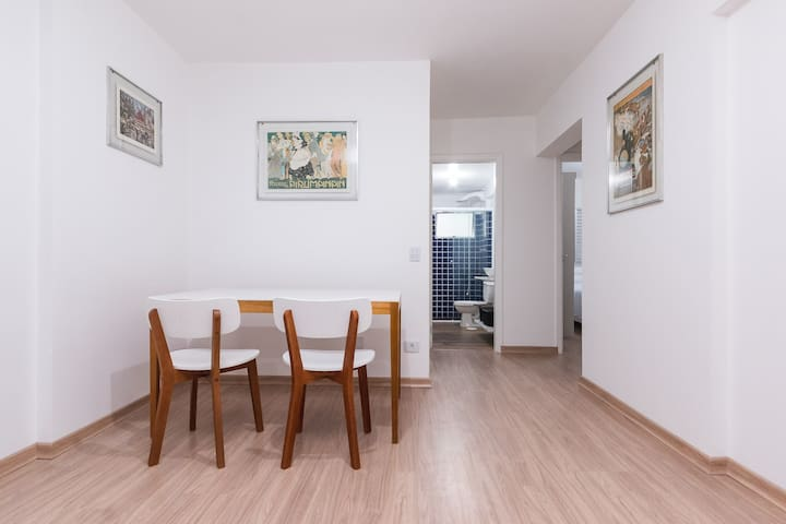 Apartamento moderno com espaço plus.