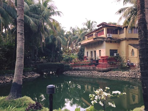 Authentic Shantiniketan Mud Villa - Diya Villa 1