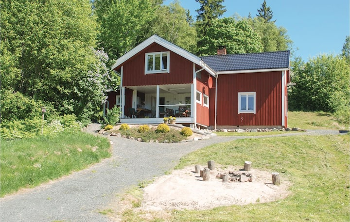 Nice home in Nordmarkshyttan with WiFi, 4 Bedrooms and Sauna