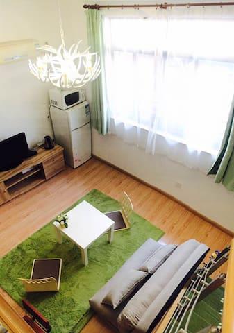 紧邻南京西路地铁站的日系loft风格独立厨卫可住3人 - Shanghai - Wohnung