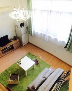 紧邻南京西路地铁站的日系loft风格独立厨卫可住3人 - 上海 - 公寓
