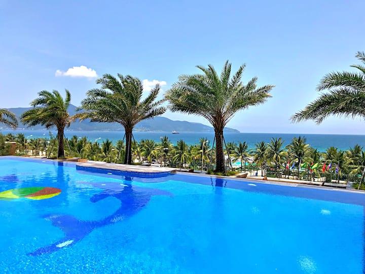 ★Free wifi★My Khe Beach Front-Infinity Pool-Family