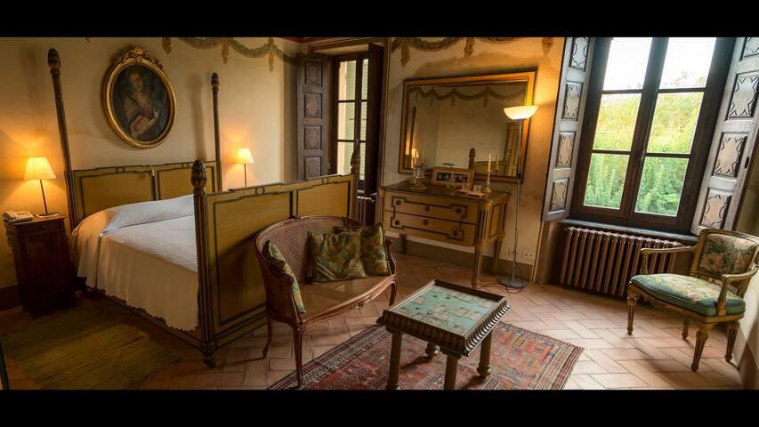 Camera Matrimoniale in Villa - Camera del Barone