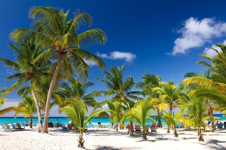 New Condo Boca Chica Beach DR Caribbean Paradise !
