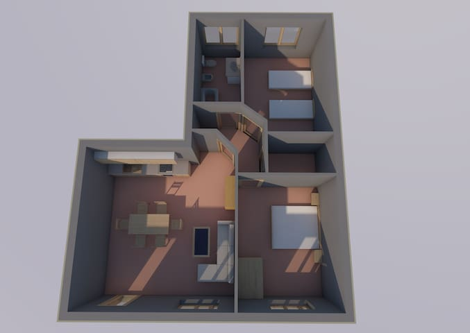 Appartamento ampio e luminoso