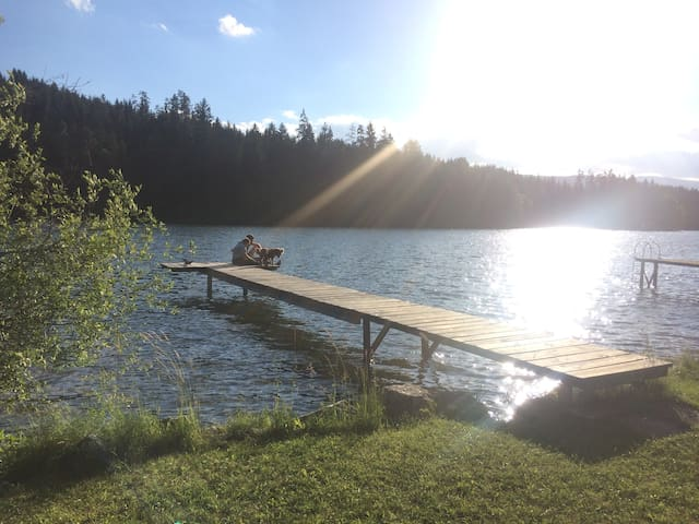 Summerdream at the lake. As a couple or with kids!