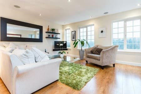 2-12 people: stunning, open-plan - walk into town - Henley on thames - Ház