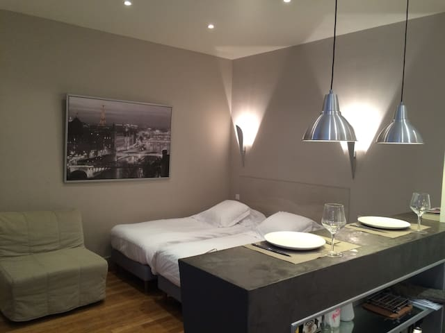 Luxury fully equiped Studio by the Arc de Triomphe