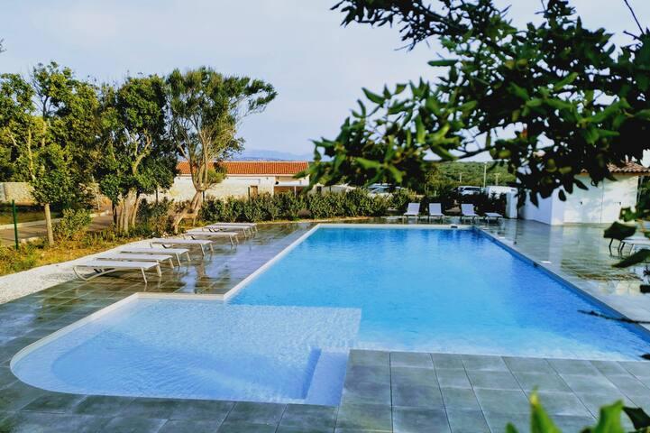 Villa T4 climatisée piscine chauffée
