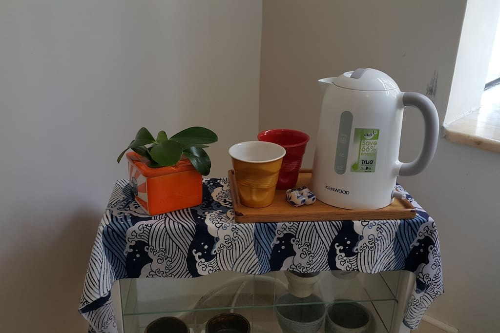 Tea & Coffee making facilities