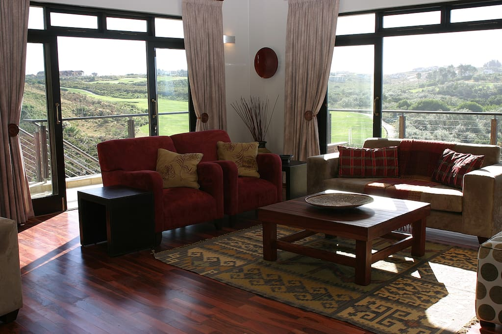 Both lounges offer beautiful views. There is dual vision DSTV in each lounge.
