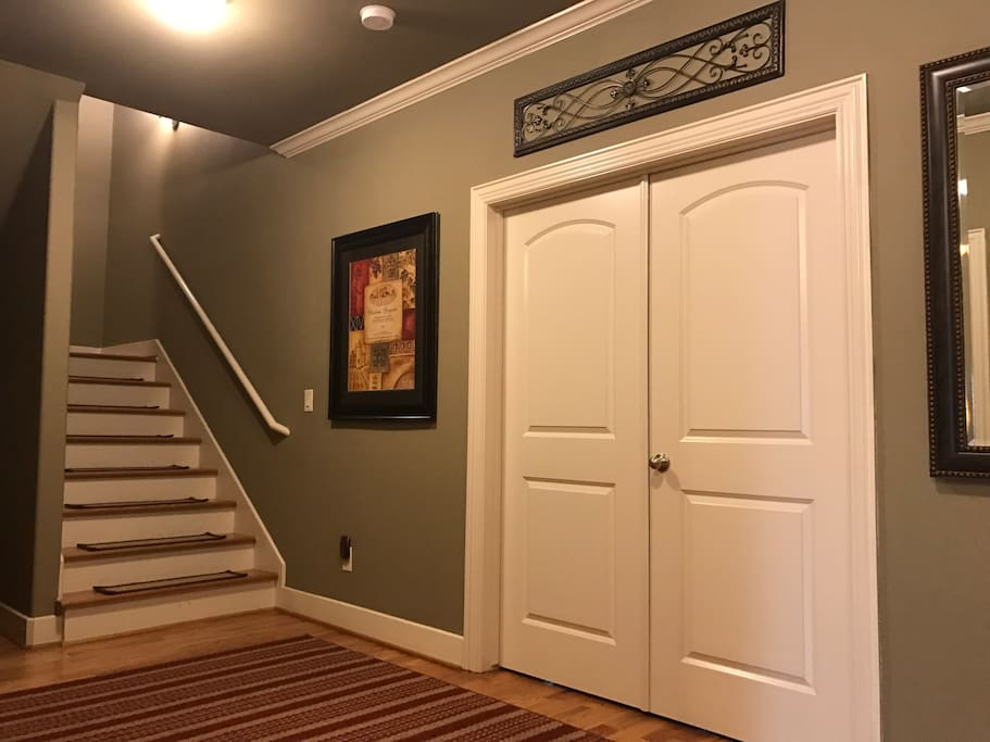 Entry to first floor bedroom