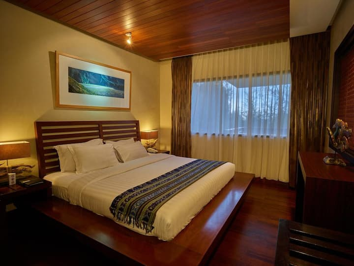 Junior Suite Room at Jiwa Jawa Bromo